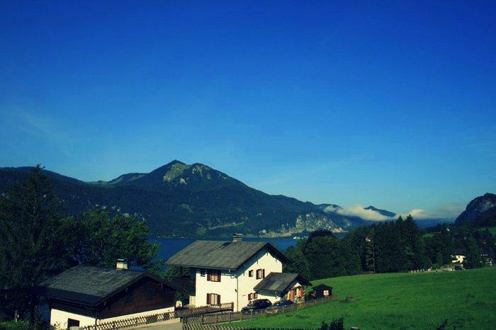 Rakousko - Wolfgangsee / foto: dovolenkářka