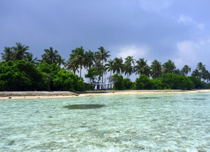 Guraidhoo - vedlejší ostrůvek, ze kterého je piknik ostrov / Foto: dovolenkářka/ Ing. Petra Švehlová Stowasserová