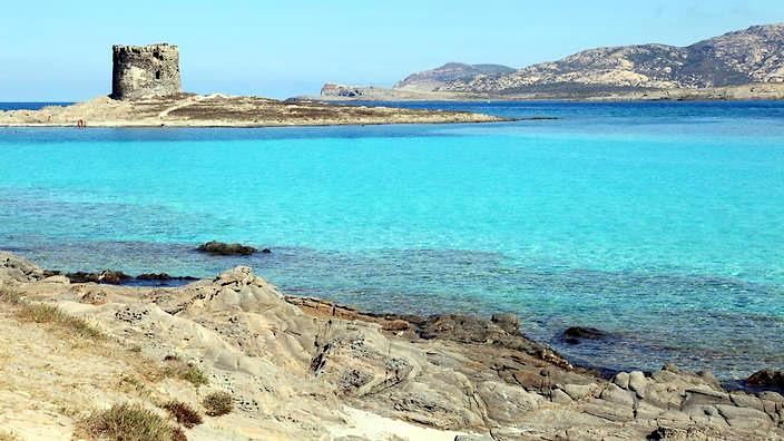 Pelosa Beach / Sardínie