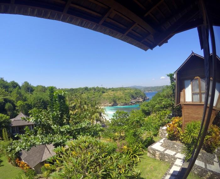 Nusa Ceningan - Villa Trevally / foto: dovolenkářka