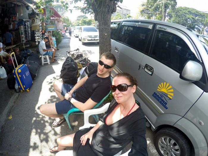 Čekáme na loď - Sanur / foto: dovolenkářka
