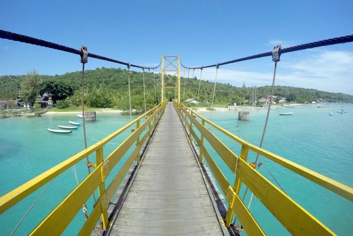 Most mezi ostrovy / foto: dovolenkářka