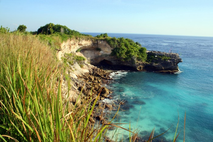 Jumping Point - Nusa Ceningan / foto: dovolenkářka