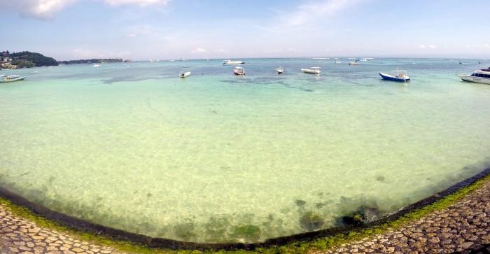 Nusa Lembongan přístav / foto: dovolenkářka