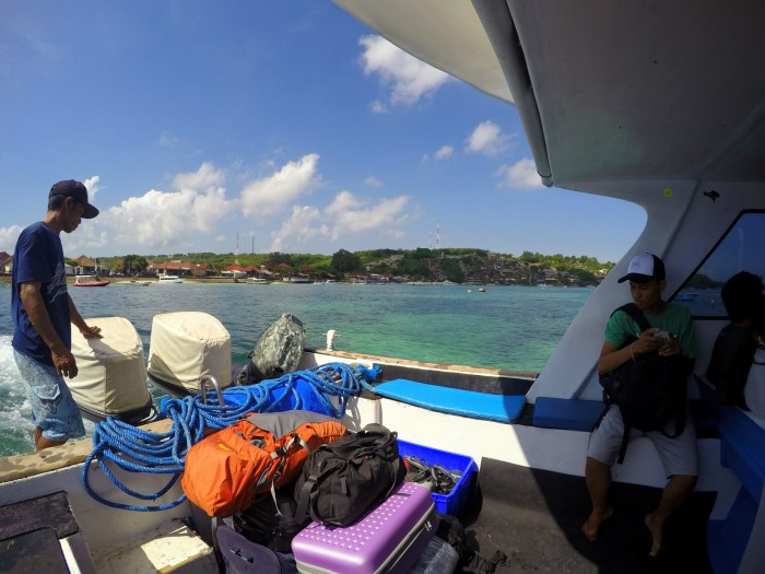 Odjezd lodí do Sanuru / foto: dovolenkářka