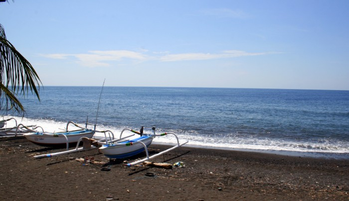 Pláž Tulamben / foto: dovolenkářka