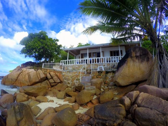 Seychely - Praslin - naše vilka na pobřeží / foto: dovolenkářka