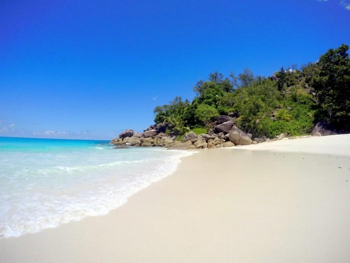 Seychely - Praslin - ano, i tahle pláž je z ostova Praslin ;-) / foto: dovolenkářka