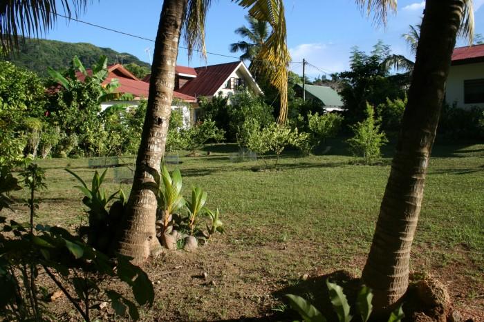 Seychely - La Digu - pohled na dům, kde jsme byli ubytovaní / Foto: dovolenkářka