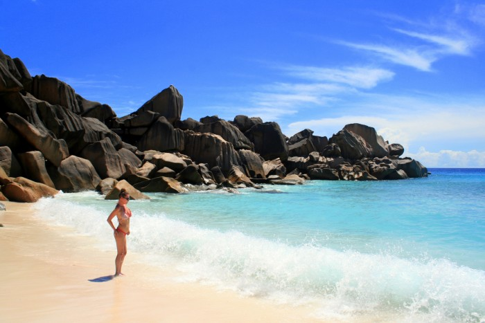 Seychelles - La Digue - Grand Anse / foto: dovolenkářka