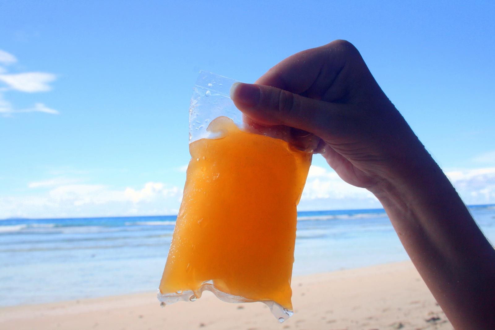 Seychely - La Digue - chuťově nejlepší zmrzlina na Seychelách / foto: dovolenkářka