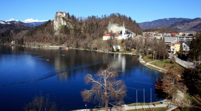 Slovinsko - jezero Bled z Hotelu Park SAVA Hotels & Resorts / foto: dovolenkářka