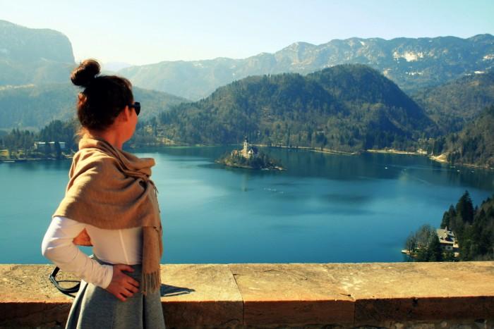 Slovinsko - Bled Castle / foto: dovolenkářka