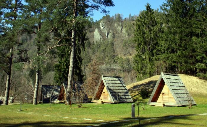 """Slovinsko - Stylové """"kempování"""" na jezeře Bled / foto: dovolenkářka"""