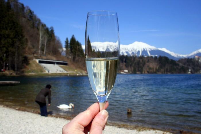 Slovinsko - jezero Bled / foto: dovolenkářka