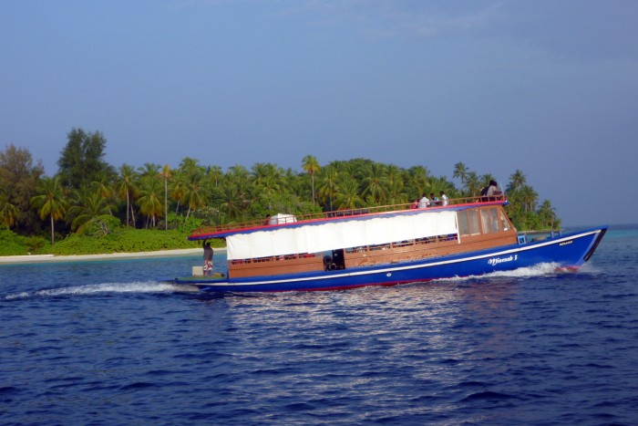 Doprava trajektem - Maledivy / foto: dovolenkářka