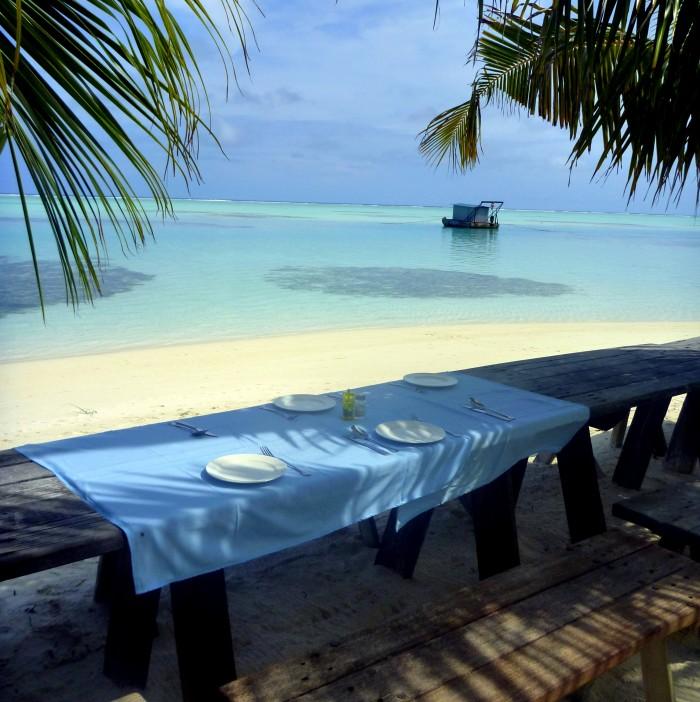 Piknik na opuštěném ostrově - Maledivy / foto: Petra Švehlová Stowasserová