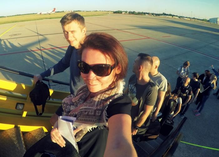 4x let s RyanAir - zážitek sám o sobě / foto: dovolenkářka