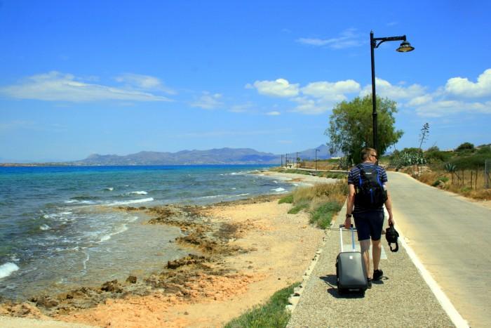 14denní putování po Řecku s příručními zavazadly / foto: dovolenkářka