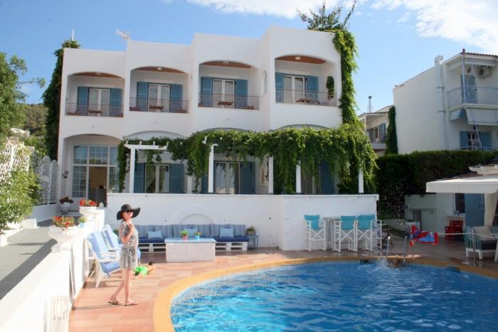 Řecko - ostrov Agistri Hotel Oasis Beach Skala/ foto: dovolenkářka