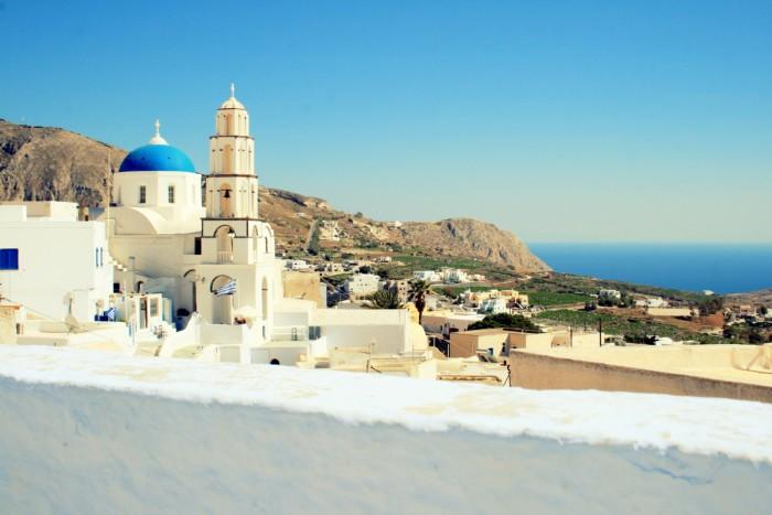 Santorini - Pyrgos / Foto: dovolenkářka