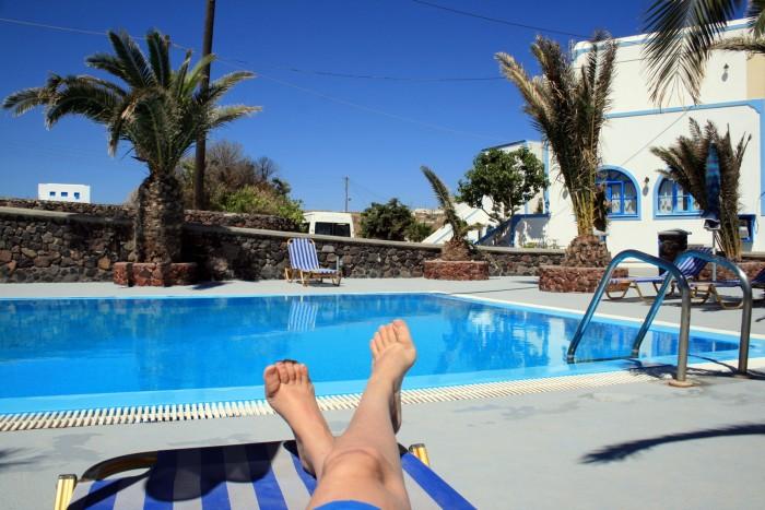 Santorini - Artemis Village / Foto: dovolenkářka