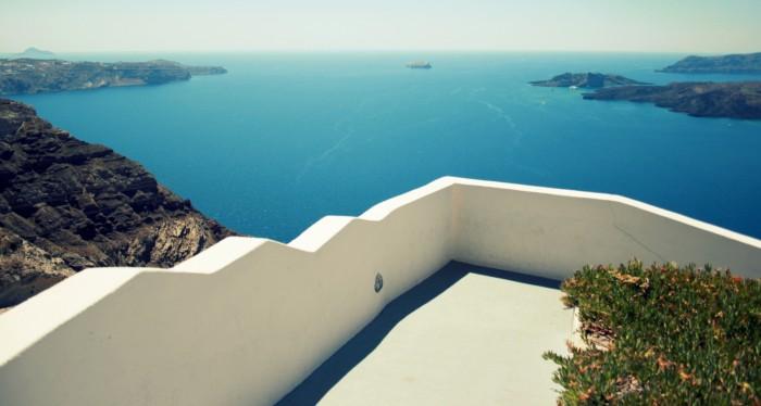 Řecko - Santorini / Santo Wines / Foto: dovolenkářka