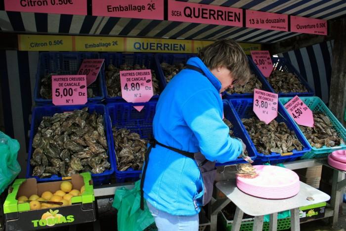Francie - Bretaň - Cancale / foto: dovolenkářka