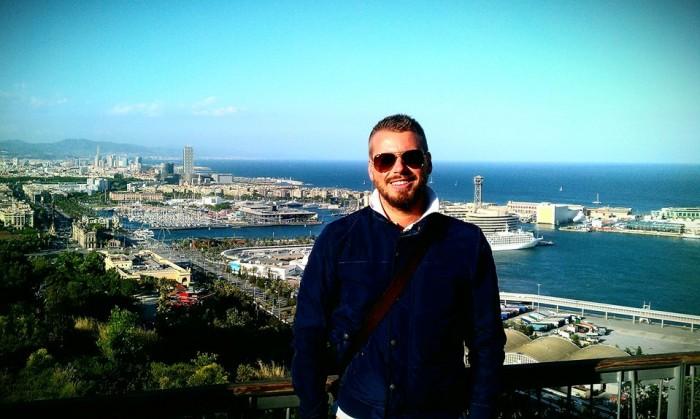 Richard Hladík - dovolená Barcelona