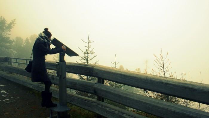 Vyhlídka Stuibenfall - za hezkého počasí je zde možné dohlédnout až k vodopádu / foto: Petra Švehlová Stowasserová