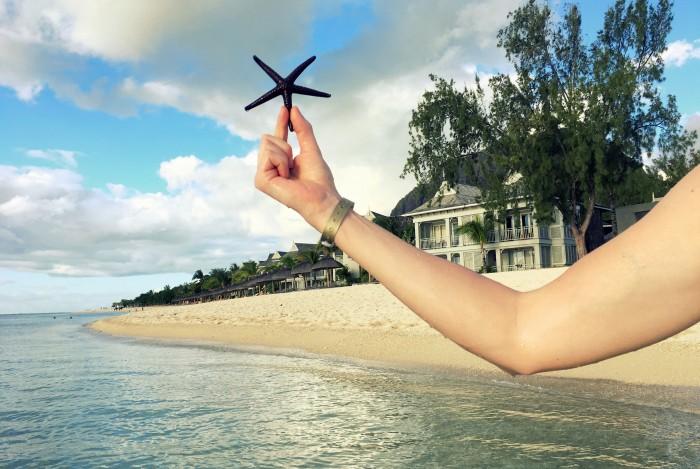 Mauricius - Le Morne - St. Regis klidná pláž vhodná ke šnorchlování - pár set metrů od RIU Le Morne/ Foto: Petra Švehlová Stowasserová