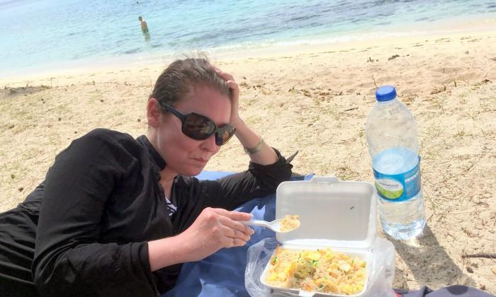 Mauricius - Le Morne park  aneb zpět ke smažené rýži ;-) / Foto: Petra Švehlová Stowasserová