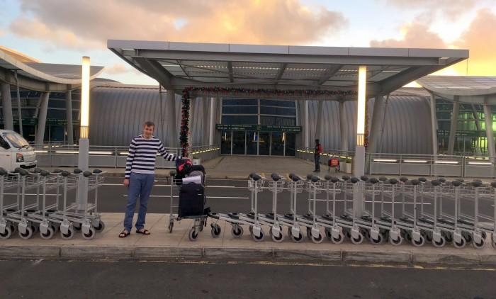 Mauricius - letiště / foto: dovolenkářka