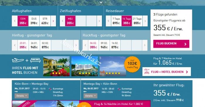 Letenky na Jamajku / Lturfly