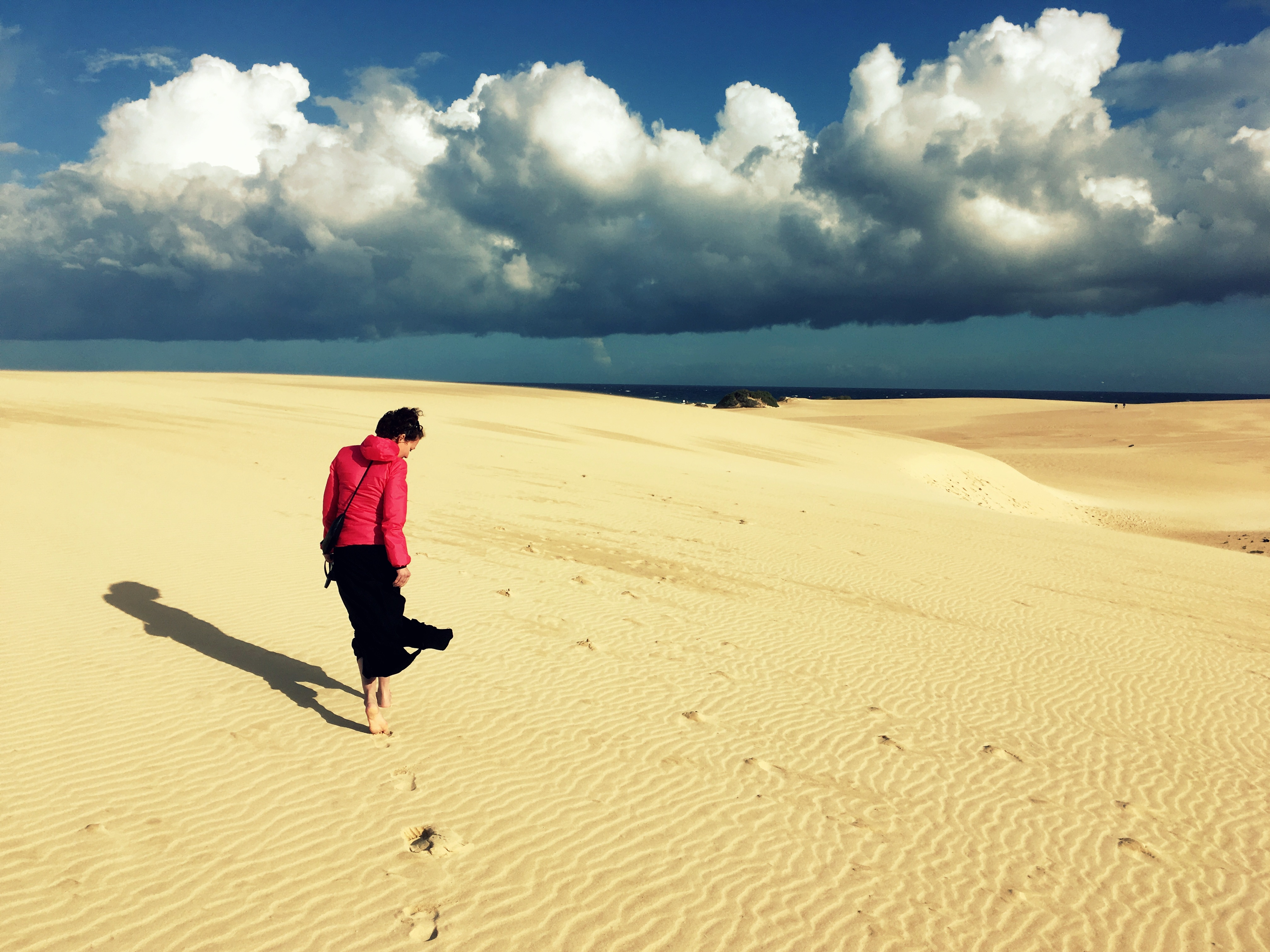 Výlety na Fuerteventuře: písečné duny Corralejo