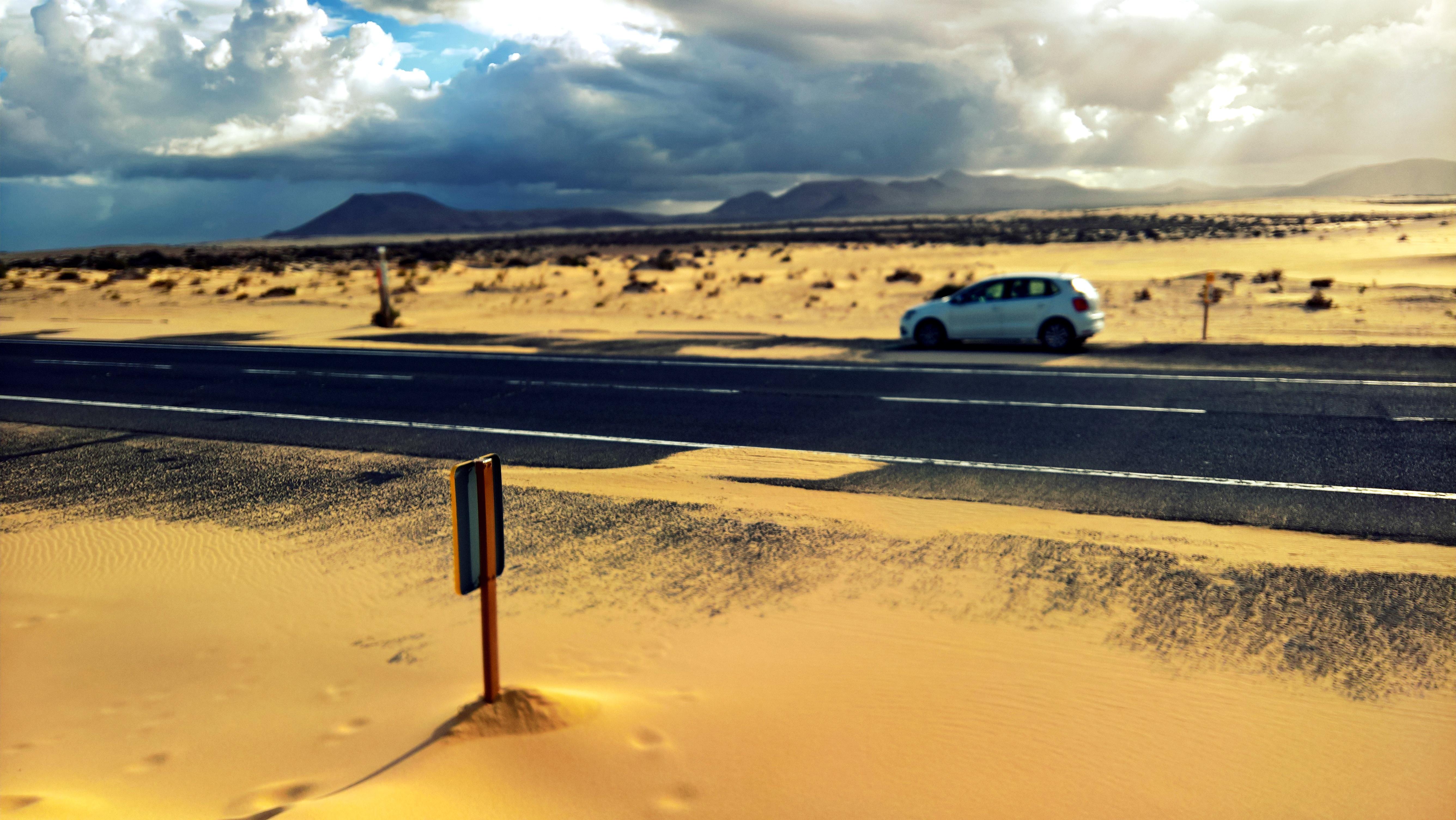Fuerteventura: písečné duny Corralejo
