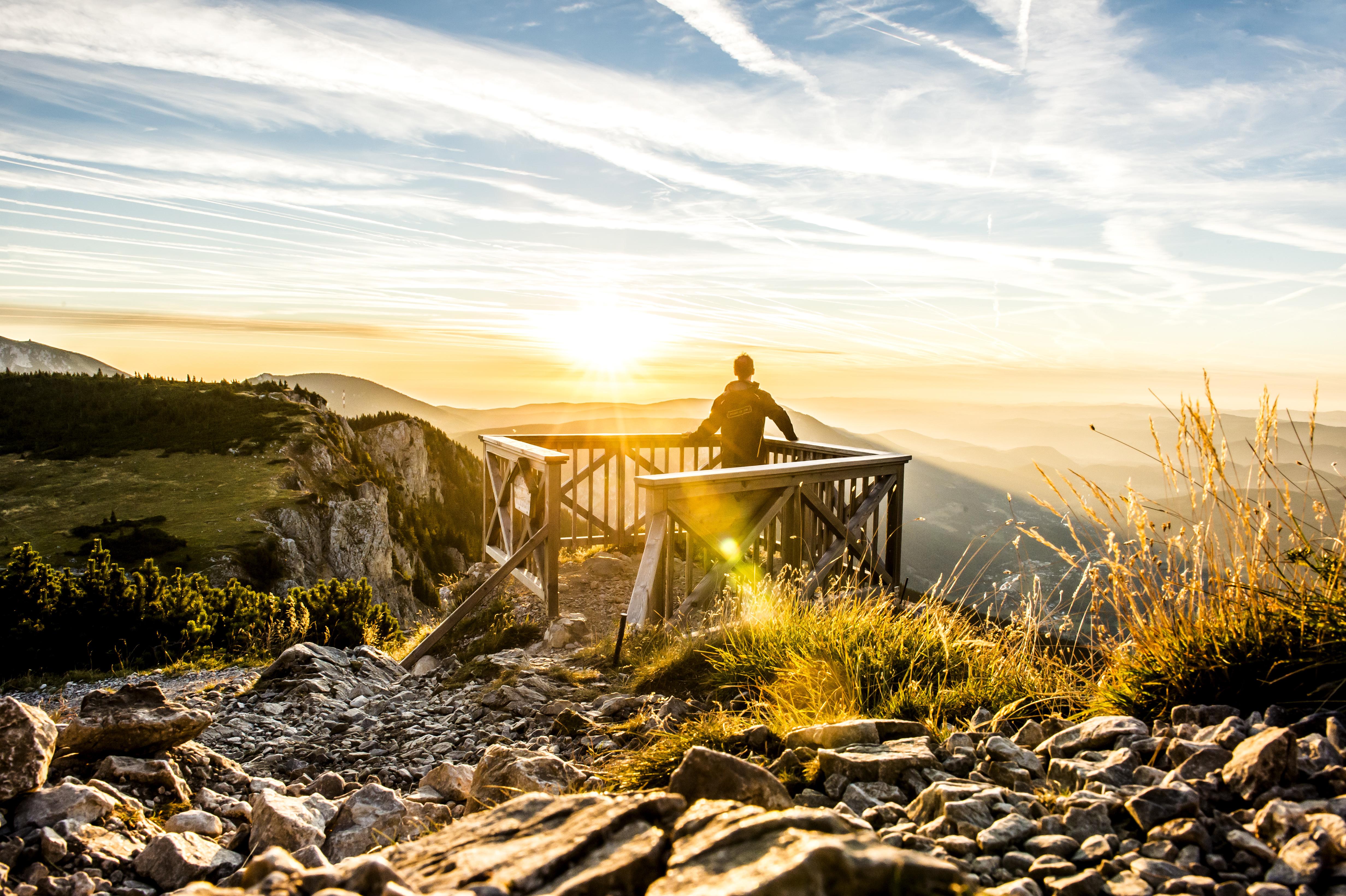 Bergsommer auf der Rax / Dolní Rakousko, Robert Herbst