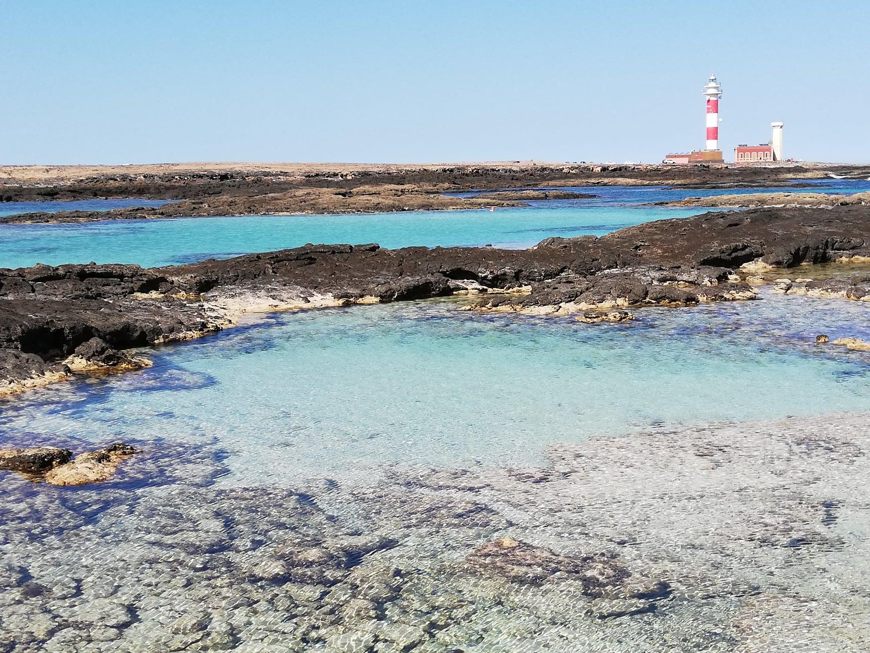 Fuerteventura: El Cottilo / výhled na Faro del Tostón